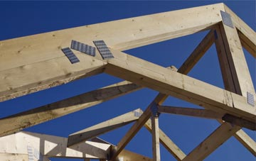 Breck Of Cruan roof trusses for new builds and additions